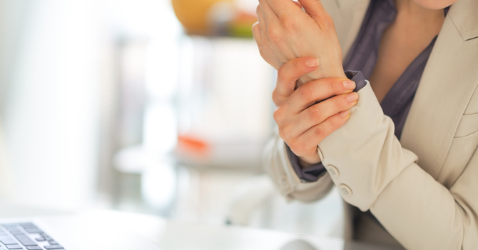 Carpal Tunnel Syndrome. Hands On! image